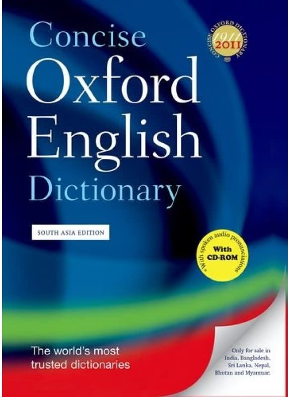 An English Dictionary
