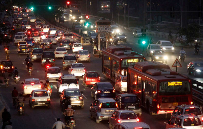 Vehicles in Traffic as an example of is-a relationships to explain ICSE Computer Applications