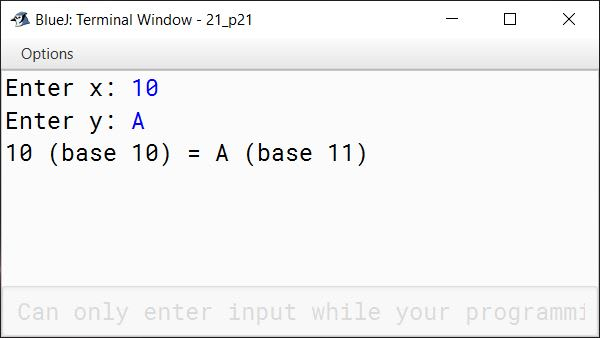 BlueJ output of KboatFindBase.java